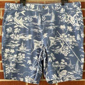 NWT 🐎Polo Ralph Lauren Coastal Print Shorts 42